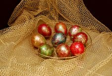 Free Nest Of Easter Hare (rabbit) Royalty Free Stock Photos - 5002668
