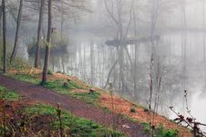 Free Fog Lake Royalty Free Stock Photography - 5002827