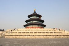 The Temple Of Heaven In Beijing Royalty Free Stock Photography