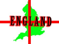 Free England Map Stock Photo - 5003210