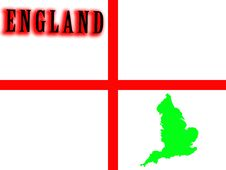 Free England Map 2 Stock Images - 5003214