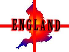 Free England Map 3 Stock Photography - 5003222