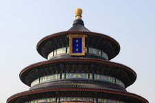 The Temple Of Heaven In Beijing Royalty Free Stock Image