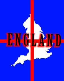 Free England Map 5 Royalty Free Stock Images - 5003369