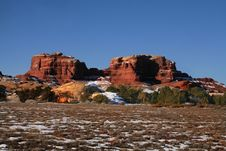 Free Red Rock Canyonlands Royalty Free Stock Image - 5003946