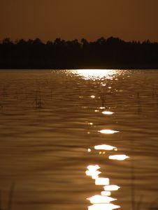 Free Lake Sunset Stock Photos - 5004043