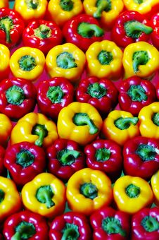 Free Red And Yellow Pepper Stock Photo - 5004710