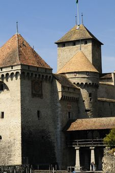 Free Chateau Chillon Royalty Free Stock Photo - 5004745