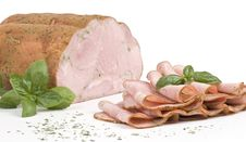 Free Ham With Herbs Stock Photography - 5004802