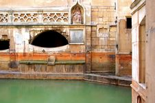 Free Roman Baths Royalty Free Stock Photography - 5005067