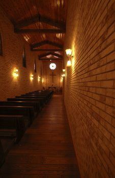 Free Narrow Church Stock Photography - 5005142