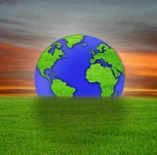 Free Earth Royalty Free Stock Photography - 5005327