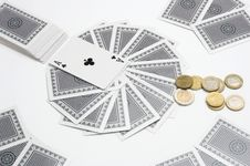Free Betting Cards Stock Photo - 5005440