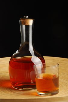 Free Carafe With Whiskey Stock Photo - 5006530