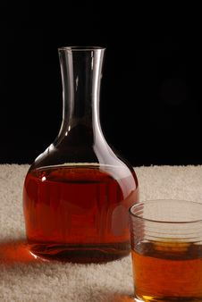 Free Carafe With Whiskey Royalty Free Stock Images - 5006549