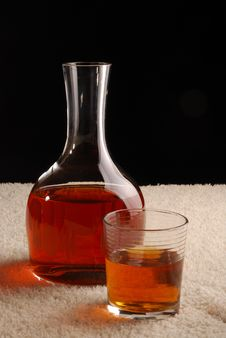 Free Carafe With Whiskey Royalty Free Stock Photography - 5006567