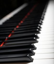 Free Piano Keys Royalty Free Stock Photos - 5006638