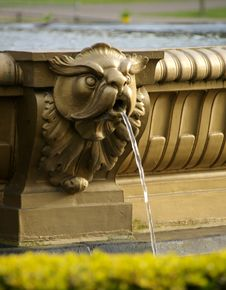 Free Detail Of Fountain Near Edinburgh Castle Stock Photos - 5006703