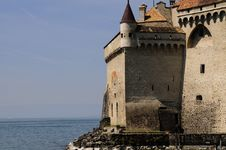 Free Chateau Chillon Royalty Free Stock Photo - 5007415
