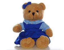 Free Teddy Bear In School Uniform Stock Images - 5009924