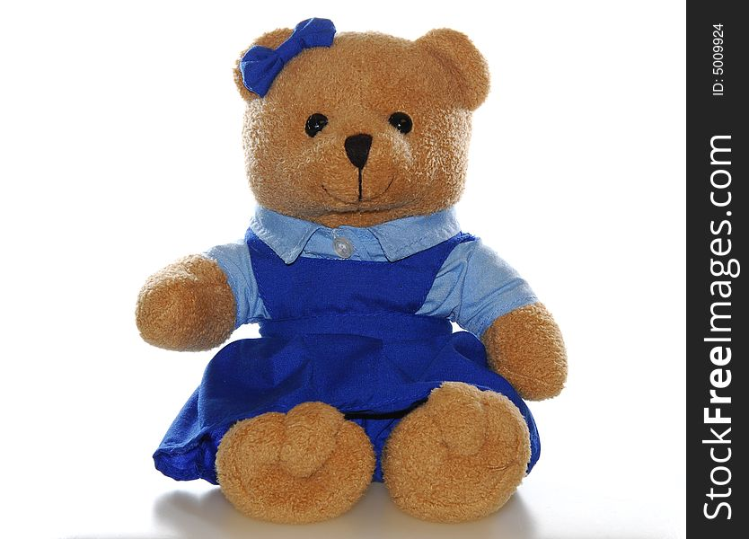 Teddy Bear In School Uniform   Free Stock Images U0026 Photos   5009924 |  StockFreeImages.com