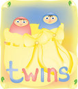 Free Twins Royalty Free Stock Images - 5015819