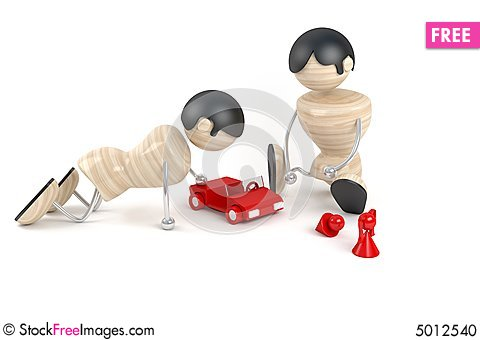 Free Children Play Stock Photo - 5012540