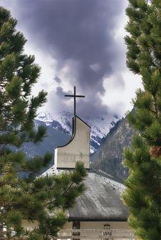 Free Cross In The Alps, Austria Stock Photos - 5010473