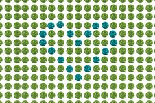 Free Blue&green Buttons Royalty Free Stock Photos - 5010618