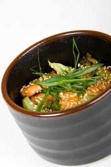 Free Japan Salad Royalty Free Stock Image - 5010766