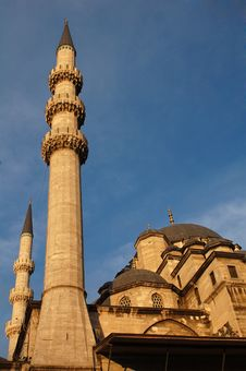 Yeni Mosque Royalty Free Stock Photos