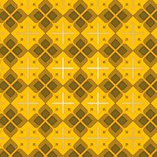 Free Brown Vintage Seamless Pattern Royalty Free Stock Image - 5011986