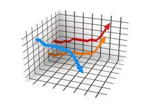 Free 3d Statistics Royalty Free Stock Image - 5012226