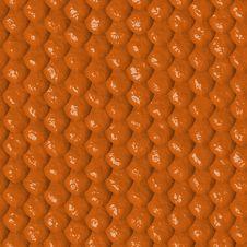 Free Orange Reptile Skin Seamless Tile Royalty Free Stock Image - 5012576