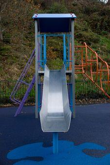Childrens Playground Slide Stock Photos