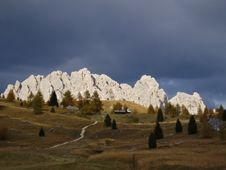 Free Cir Mountain Before A Storm Royalty Free Stock Photography - 5013877