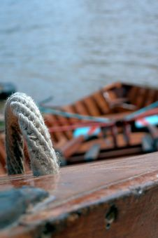 Free Rowing Boat Royalty Free Stock Image - 5014206