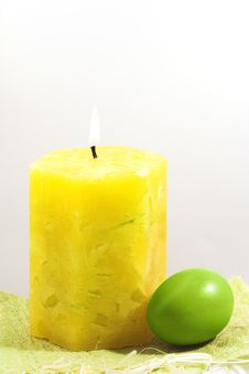 Free Easter Candle Stock Photography - 5014422