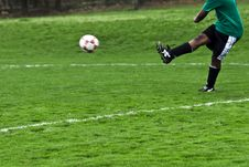 Free Kick! Royalty Free Stock Images - 5014939