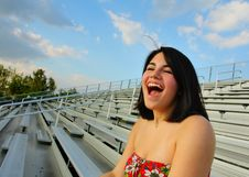 Free Ecstatic Woman Stock Images - 5015194