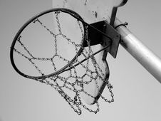 Free Basketball Hoop Stock Images - 5015274