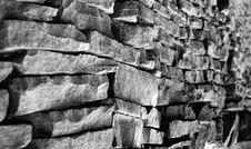 Free Drystone Wall Stock Image - 5015571