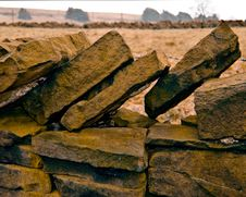 Free Drystone Wall Royalty Free Stock Photography - 5015597