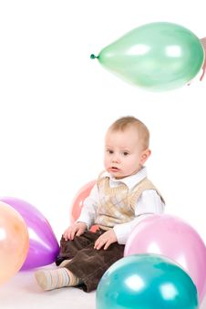 Free Play With Balloons Stock Photos - 5016413