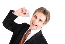 Free Businessman Has A Rest Royalty Free Stock Photos - 5016438