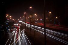 Free Night Shot Street Stock Photography - 5016972