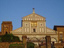 Free Church S.Miniato In Florence Royalty Free Stock Photos - 5017188