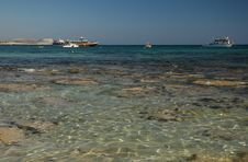 Free Coast Of Agia Napa Stock Photography - 5018032