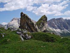 The Pera Longia Rock Stock Photo