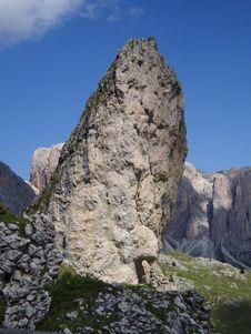 The Pera Longia Rock 3 Stock Image